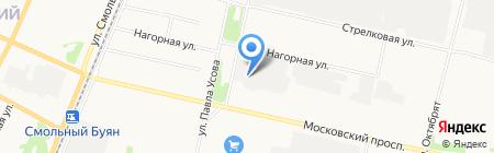 АПИК на карте Архангельска