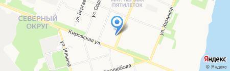 Maestro на карте Архангельска