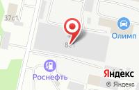 Схема проезда до компании Регбиз в Архангельске