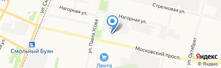 Фирма Энергия на карте Архангельска