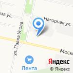 Common Rail на карте Архангельска