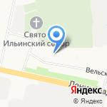 Домовёнок на карте Архангельска