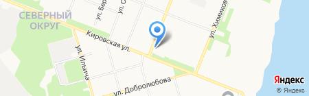 Антошка на карте Архангельска