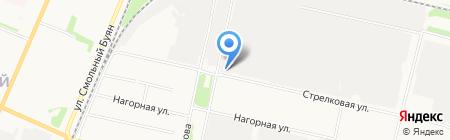 АПАП №1 на карте Архангельска