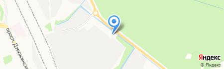 ОкругСтрой на карте Архангельска
