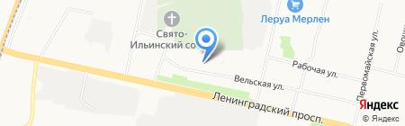 У Петровича на карте Архангельска