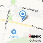 Автодеталь на карте Архангельска