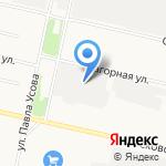 Спецснаб на карте Архангельска