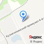 Поморская геологоразведочная экспедиция на карте Архангельска