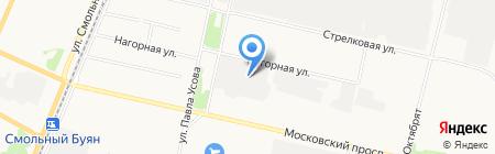 ГАРО-Сервис на карте Архангельска