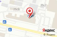 Схема проезда до компании Мосавтошина в Архангельске
