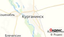 Гостиницы города Курганинск на карте
