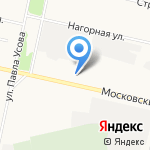 Двери Тека на карте Архангельска