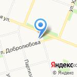 Детский сад №88 общеразвивающего вида на карте Архангельска
