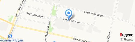 20 отряд государственной противопожарной службы по Архангельской области на карте Архангельска