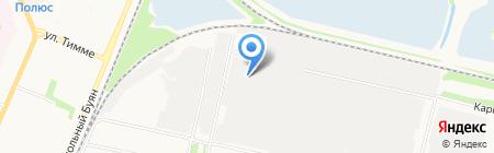 Ремонтно-механическая мастерская на ул. Павла Усова на карте Архангельска