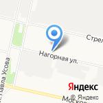 Сеть столовых на карте Архангельска