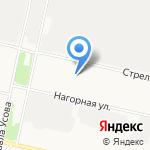 ПАЗ-АВТО на карте Архангельска