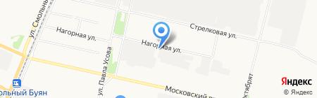 Юкон на карте Архангельска