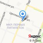Почтовое отделение №59 на карте Архангельска
