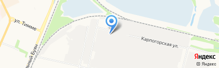Электрооборудование на карте Архангельска