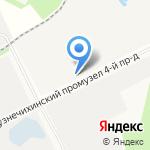 Север-Союз Сервис на карте Архангельска