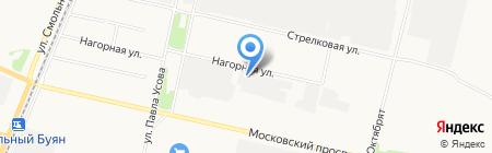 Завод Металлоизделий на карте Архангельска