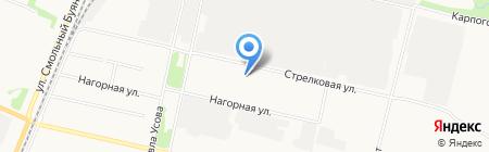 Винил на карте Архангельска