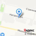 Интелс на карте Архангельска