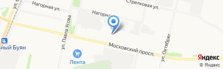 МЕГА на карте Архангельска
