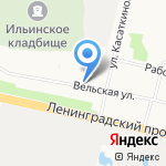 Купец на карте Архангельска
