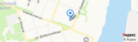 Тутси на карте Архангельска