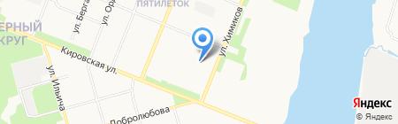 СОГАЗ-Мед на карте Архангельска