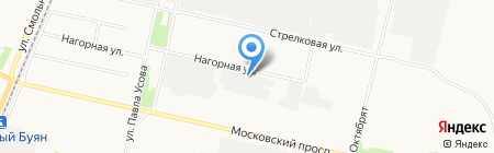 Эко-моторс на карте Архангельска