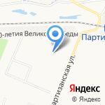 Лесовичок на карте Архангельска