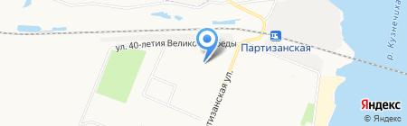 Детский сад №94 Лесовичок на карте Архангельска