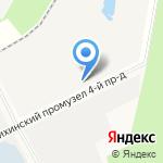 Лидер Керамик на карте Архангельска