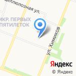 ВИТер на карте Архангельска