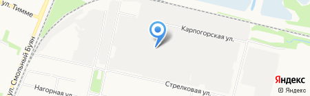 Орион на карте Архангельска