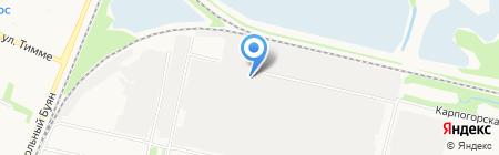 Арпас центр технического осмотра на карте Архангельска