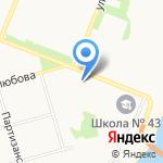 Север-Line на карте Архангельска