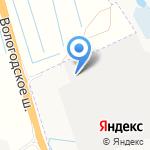 ГАЗ-Архангельск на карте Архангельска