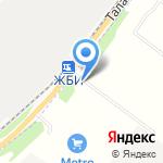 Витагор на карте Архангельска