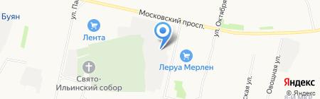 СпецРемКомплект на карте Архангельска