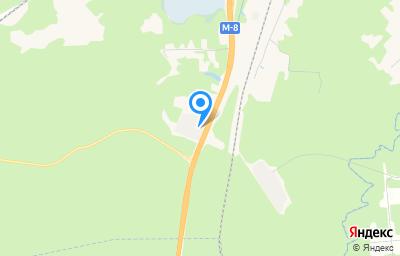 Местоположение на карте пункта техосмотра по адресу г Архангельск, ул Дорожников, д 6