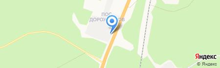 Автодороги на карте Архангельска