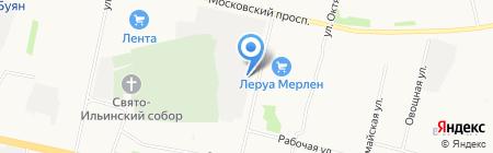 Банкомат БалтИнвестБанк на карте Архангельска
