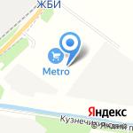METRO Cash and Carry на карте Архангельска