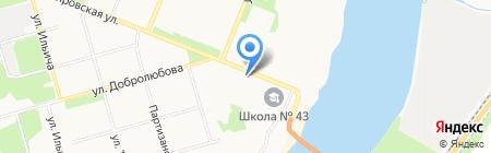 Панацея на карте Архангельска
