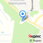Петройл на карте Архангельска